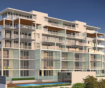 bluewater apartments development
